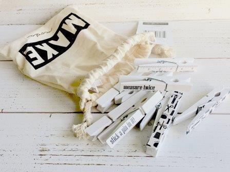 Make Moda Clothespins
