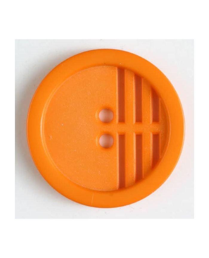 Polyamide Button 25mm - Orange