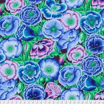 Kaffe Poppy Garden - PWPJ095 BlueX