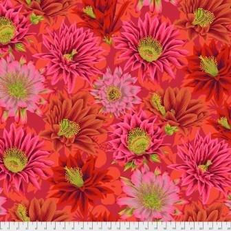 Kaffe Cactus Flower - PWPJ096 Red