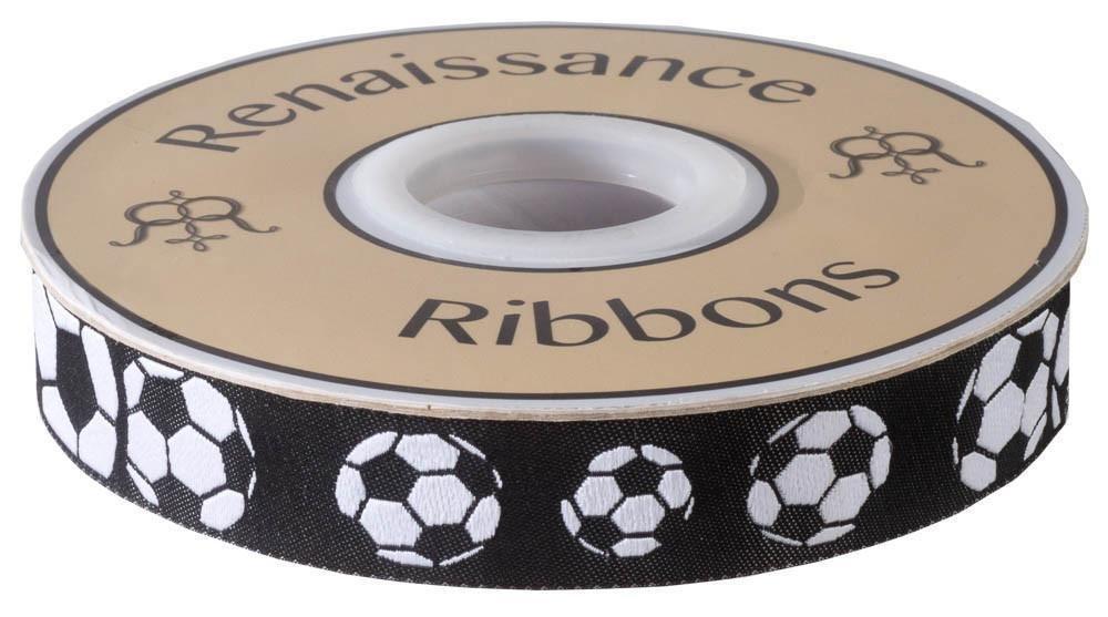 Soccer Balls Black & White - 7/8