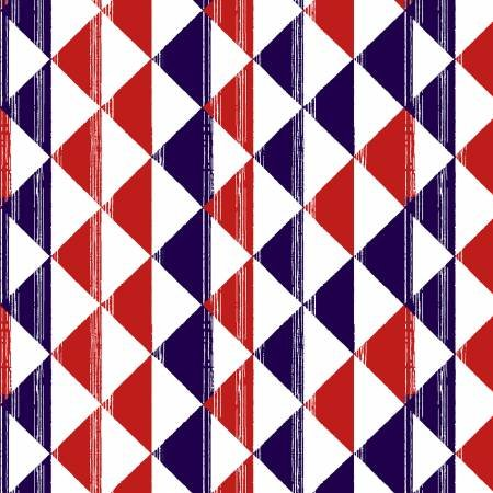 American Style - 5495-78 Patriotic Triangles