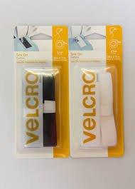 Velcro brand Regular Duty Strip White 3/4in x 30in