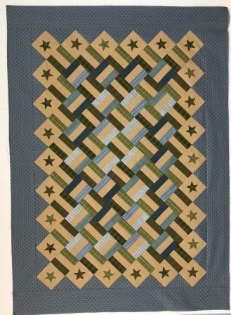 Woven Stars Quilt Kit (Primitive Quilts)