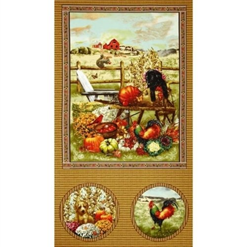 giordano studios panel, Fall and Puppy