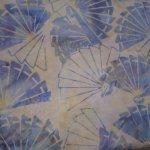 Multi-colored 121413268 with Cream background Island Batiks