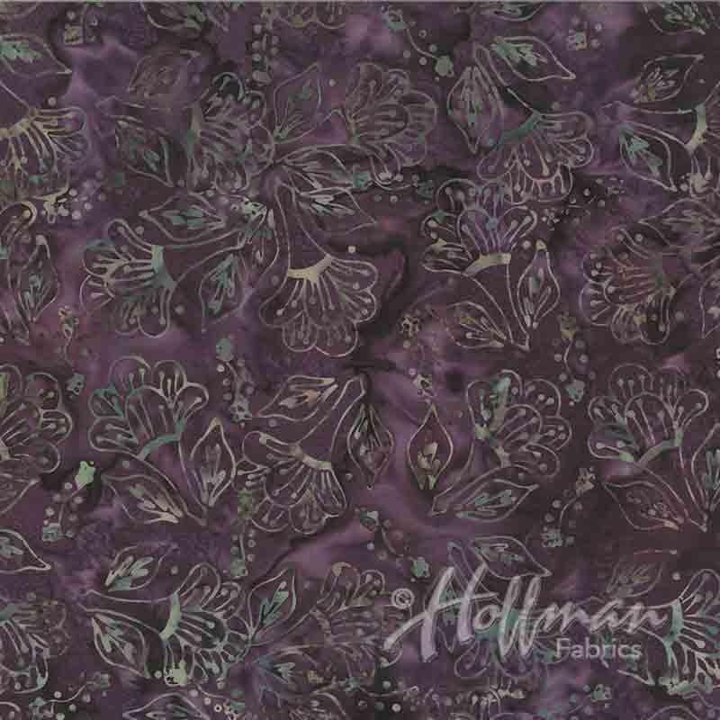 Bali Batik P2033-595 October,  Hoffman Fabrics