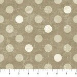 Canvas  22597-14 Brown, Beige, & Neutral Dots,  Canvas Spot On,  Northcott