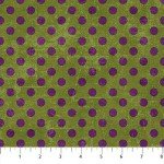 Canvas   22598-75 Crocodile w/ Purple Dots,  Canvas Spot On,  Northcott
