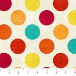 Canvas  22606-58 Hot Sauce, Multi-Color Dots,  Canvas Spot On,  Northcott