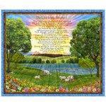 The Lord Is My Shepherd(F-4) PANEL, 27445-X, QT FABRICS