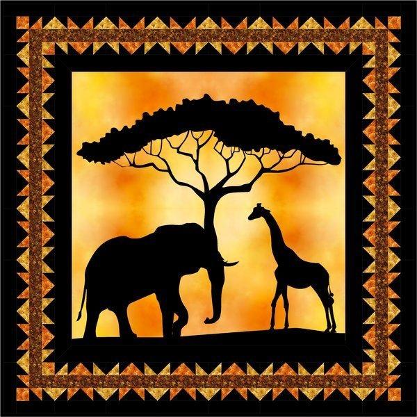 African Sunset Quilt Kit
