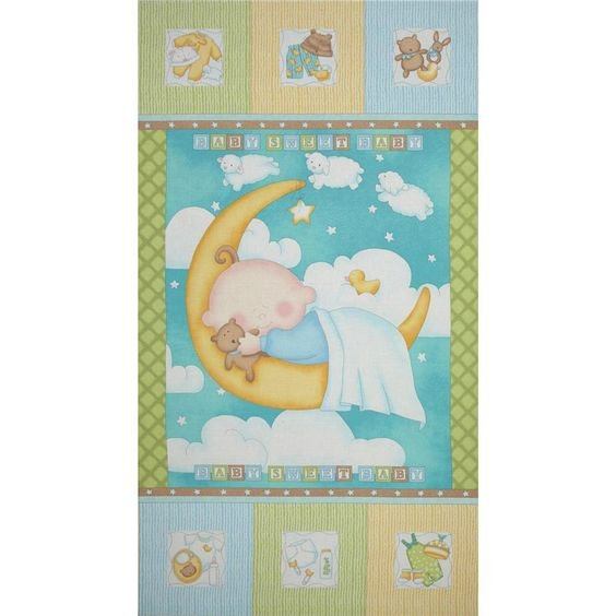 Sweet Pea Baby Panel