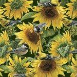 Sunflowers & Birds