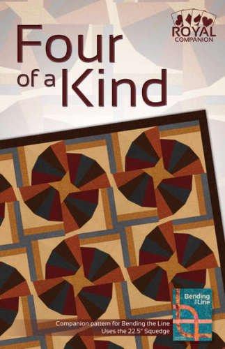 4KP7611 Four Of A Kind Pattern Phillips Fiber Art