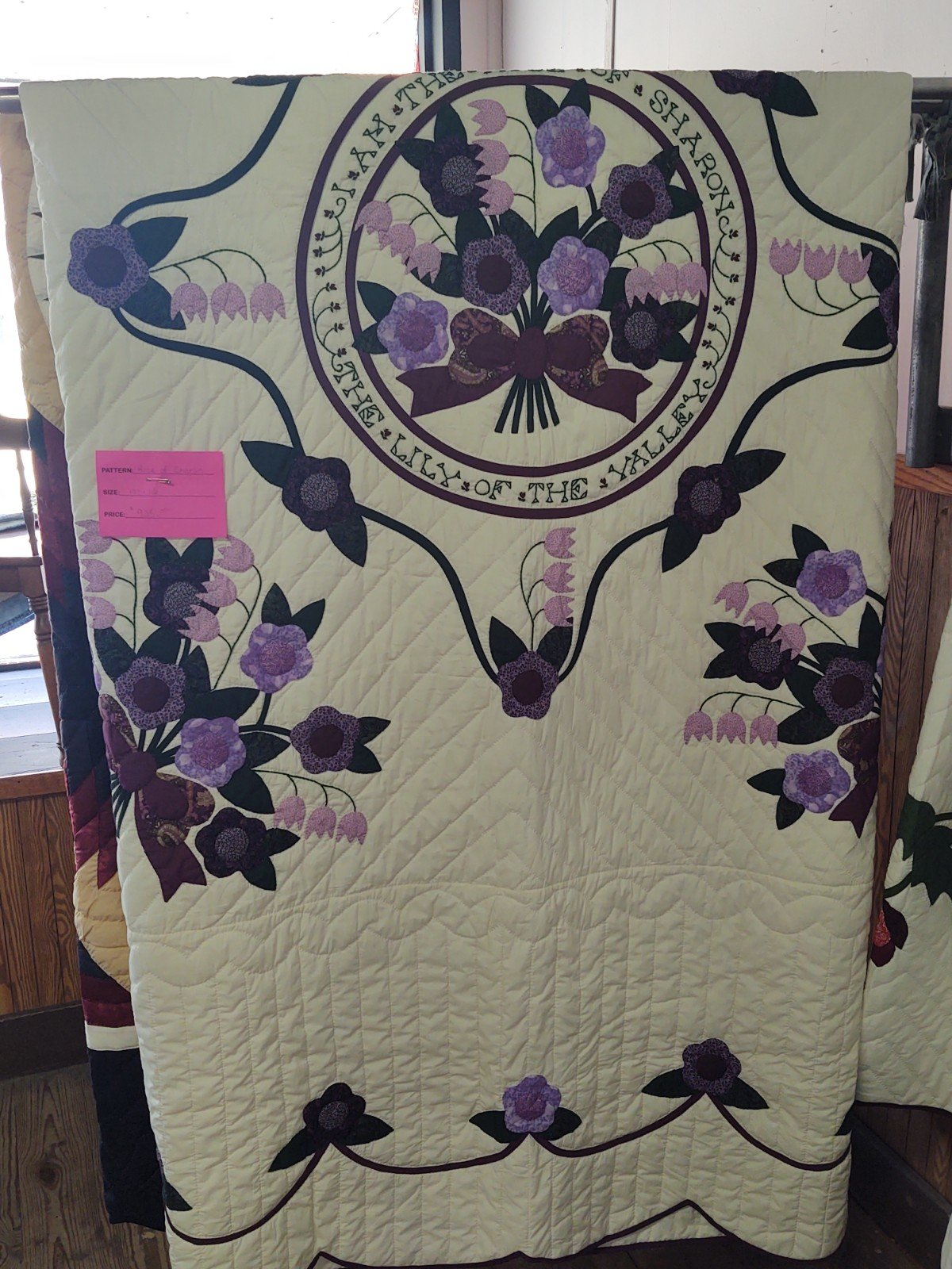 Rose Of Sharon Quilt 102 X 116