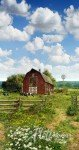 P4328-16 Sky American Byways, Country Farm, Hoffman