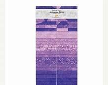 SAMB40-83  - Violet Strips, Artisan Spirit Ambience Precuts, Northcott