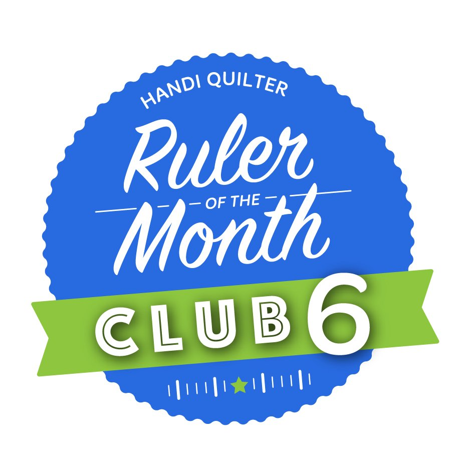 Handi Quilter Ruler of the Month Club 6