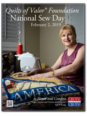 2019 National Sew Day on February 2nd.