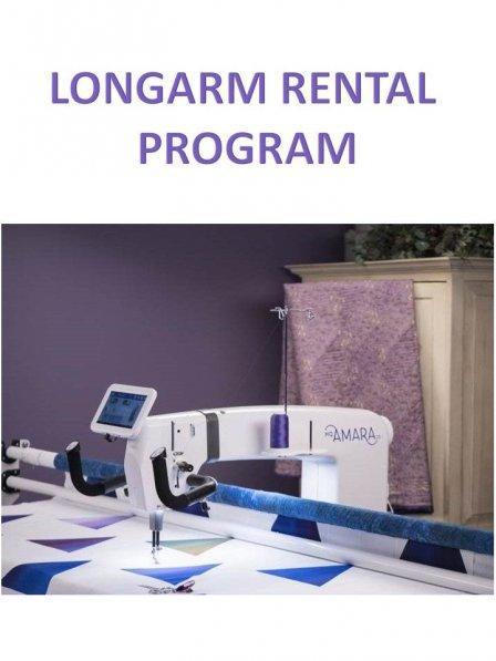 Longarm Rental Program