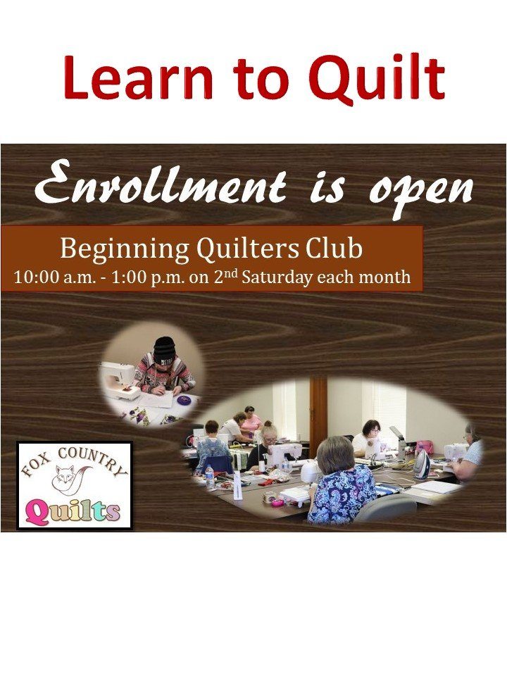 Learn to Quilt Club