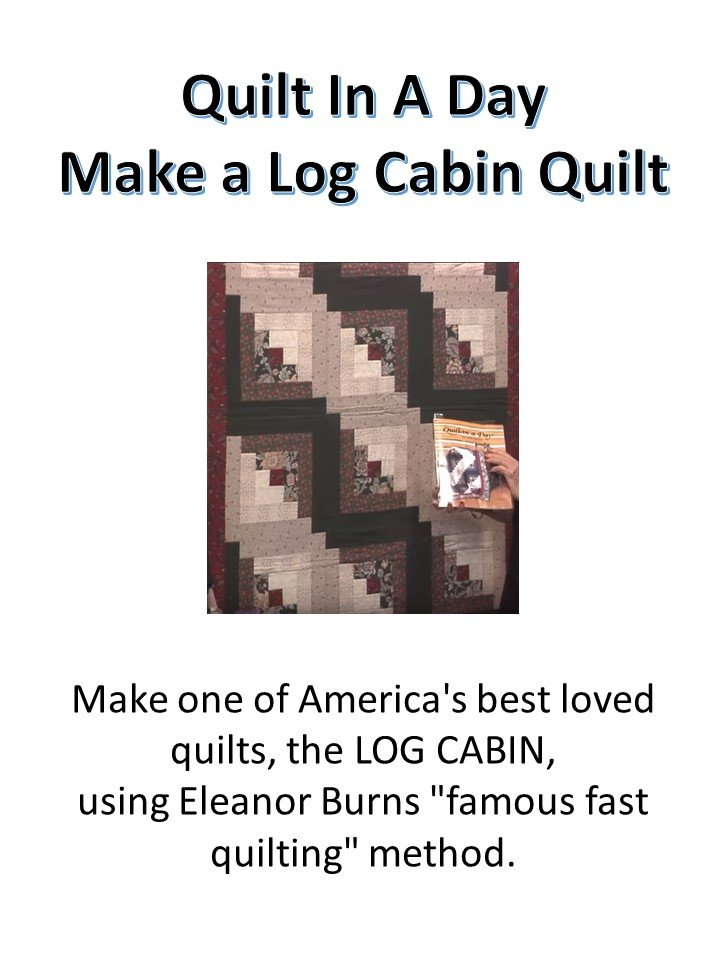 Log Cabin Quilting Class