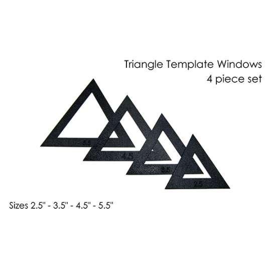Small Triangle Fussy Cut Set (2.5 - 5.5)