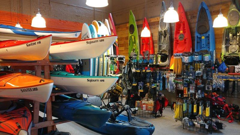 Kayak Coeur d'Alene Retal Shop