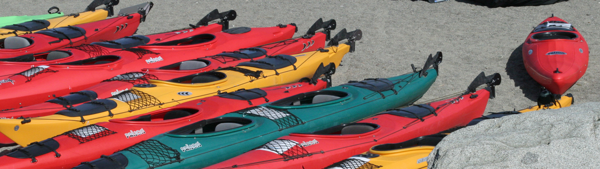Kayak Coeur d'Alene Rental Fleet