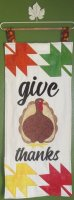 GIVE THANKS WALL HANGING!