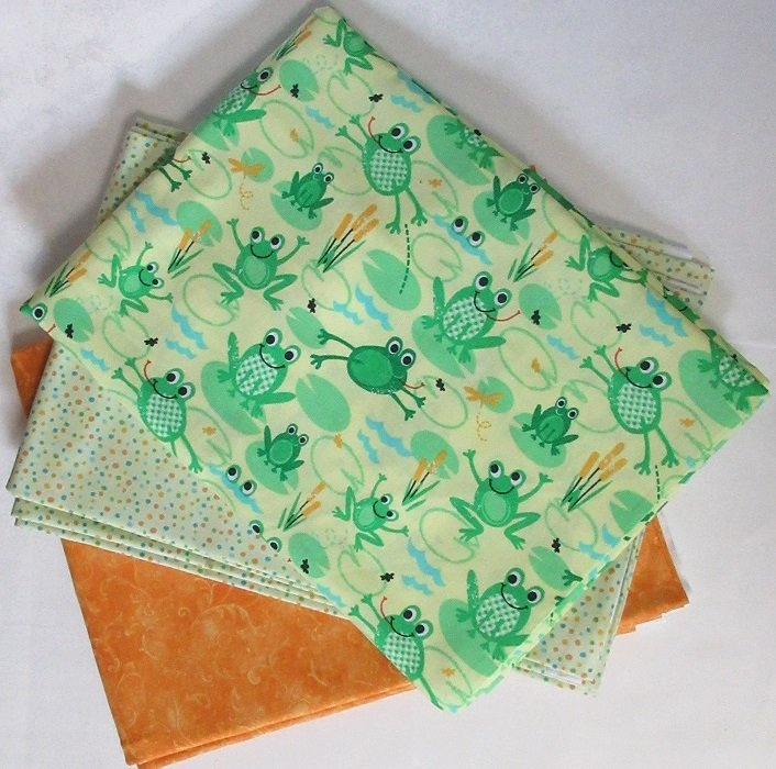 WALK ABOUT - FROGS QUILT KIT