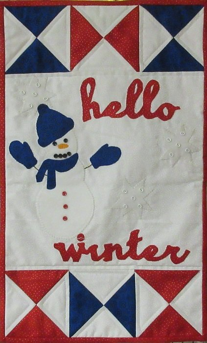 HELLO WINTER BANNER KIT