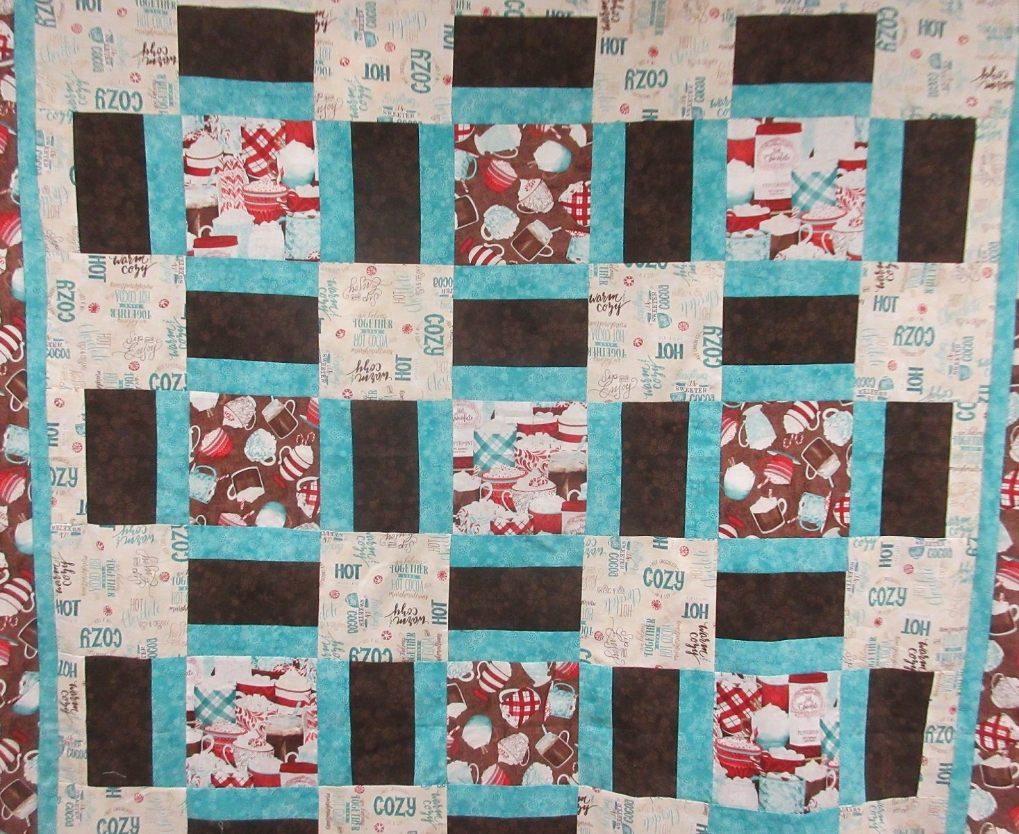 Hot Chocolate Quilt Kit
