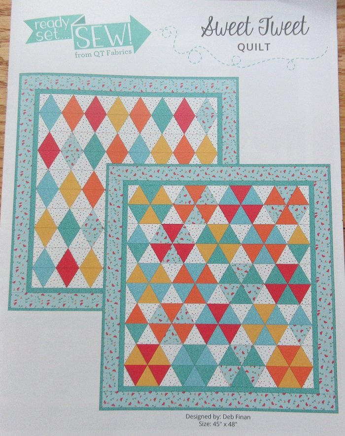 Sweet Tweet Quilt Kit