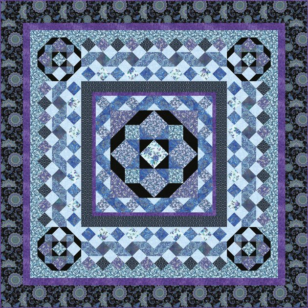 BRAIDED ELEGANCE QUILT KITS