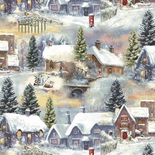 Winter Cottage 1718