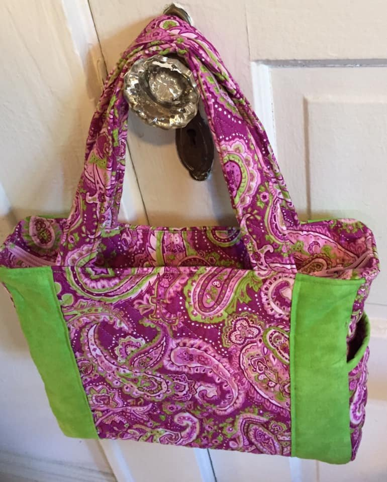 Pink Paisley Purse Too