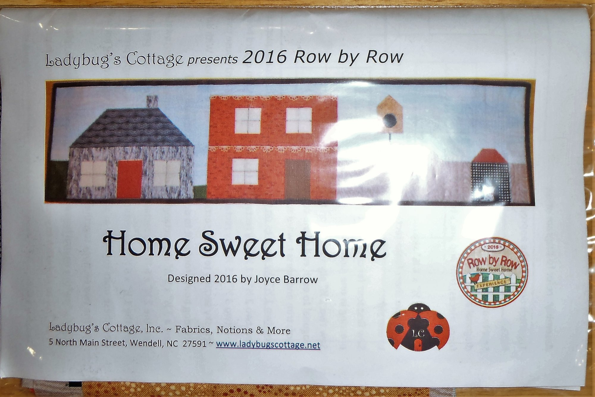 2016 Row by Row Home Sweet Home Kit