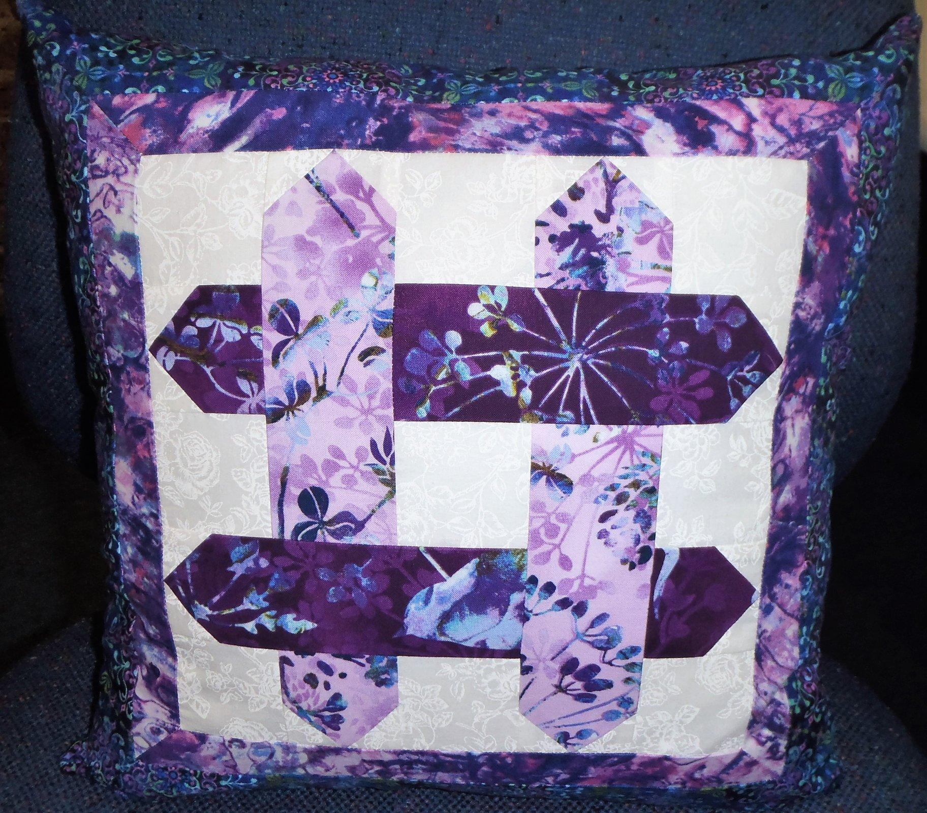 2015 Shop Hop Pillow