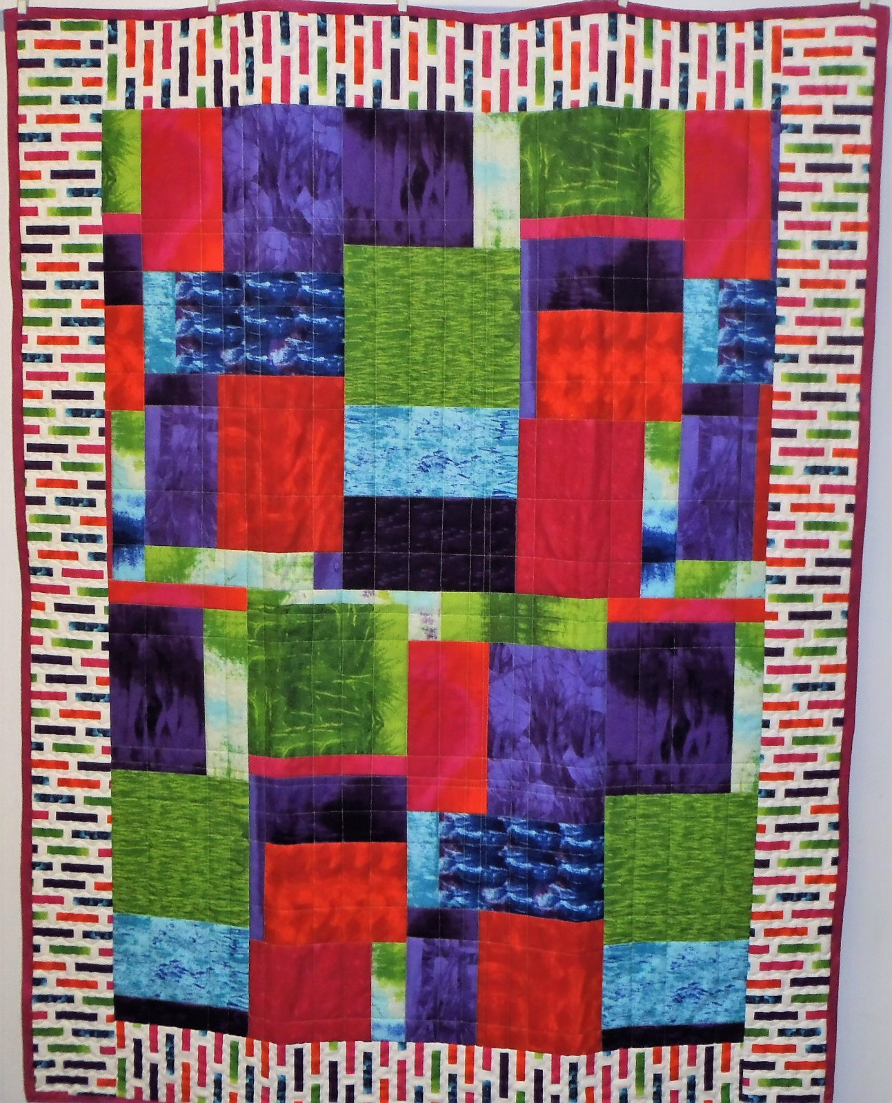 Colorful Murano Quilt