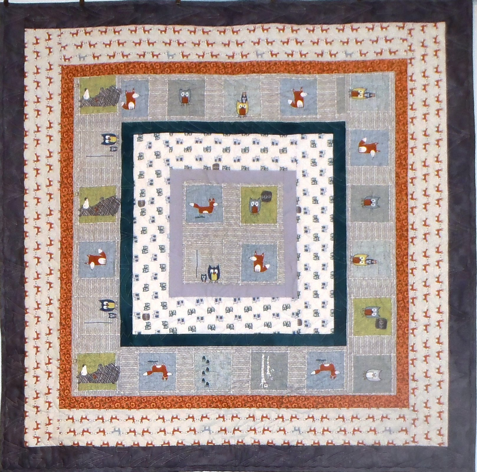 Critters All Around Quilt