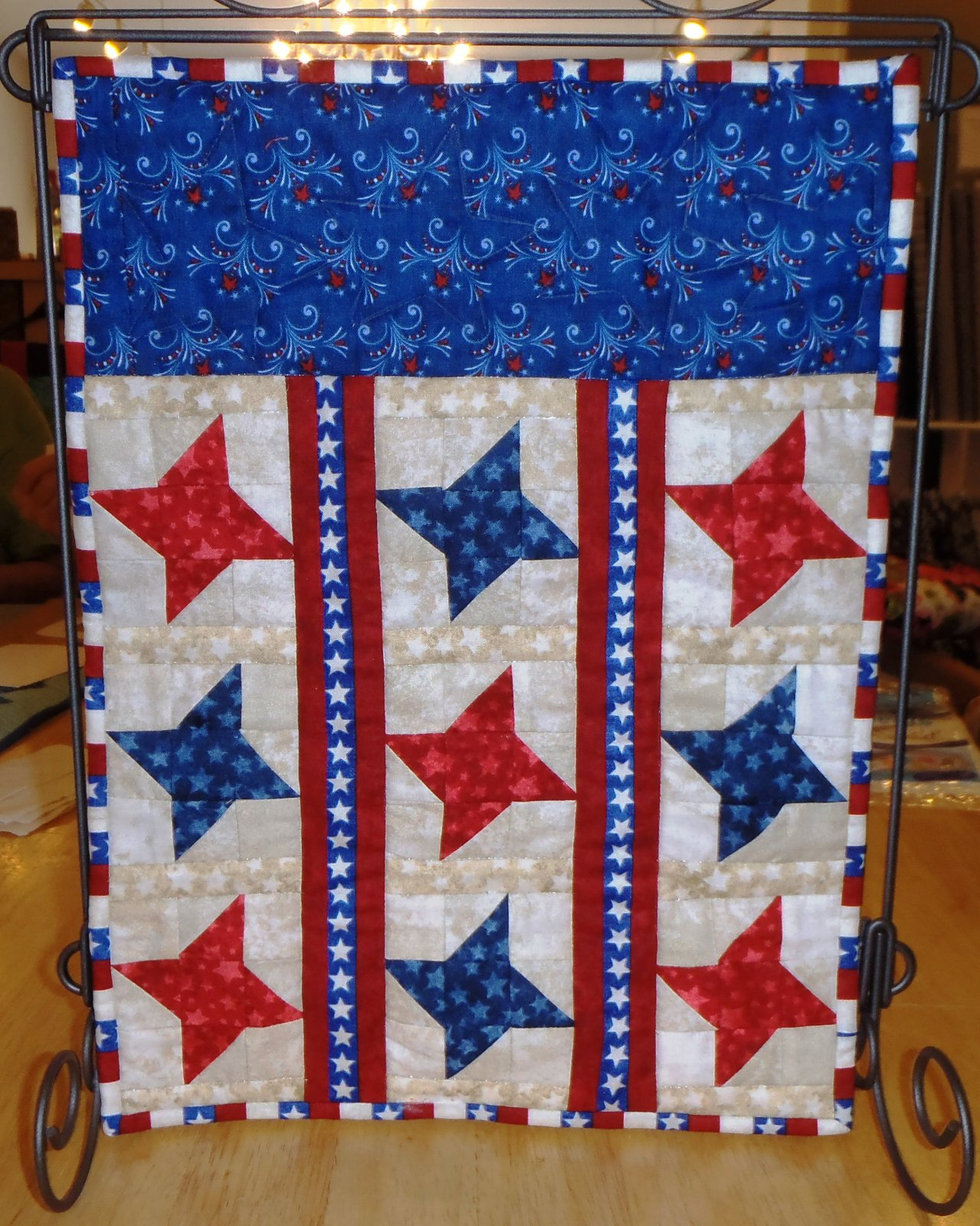 Patriotic Friends Mini Quilt
