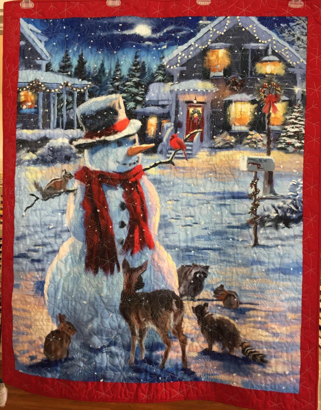 Snowman & Friends Quilt