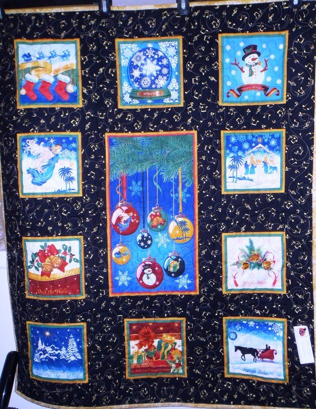 Holiday Songs Wall Hanging