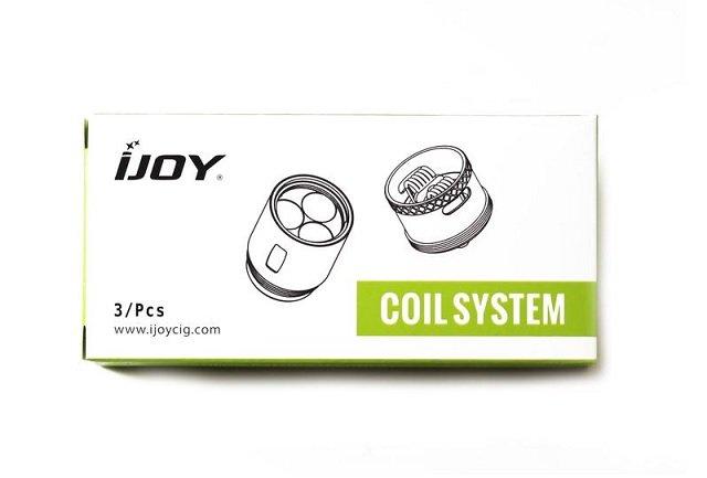 iJoy X3 & DM series coils
