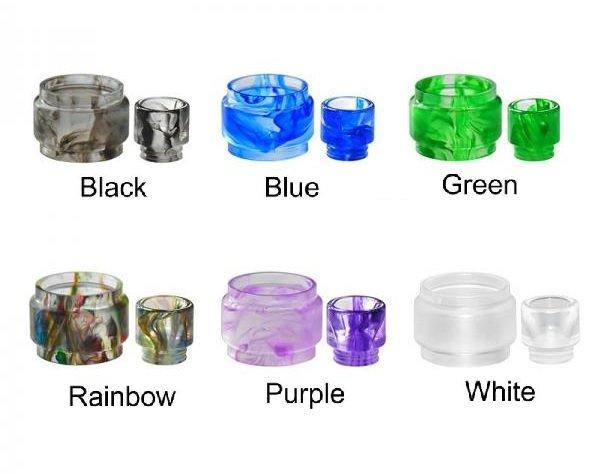 Mesh Pro Resin Glass w/ Drip Tip