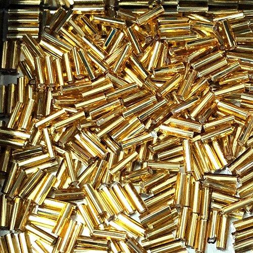 BG004.6 6mm Bugles S/L Dark Gold