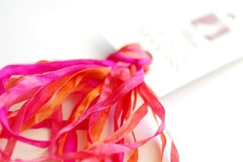 ThreadGatherer Silk Ribbon - Poppies 032