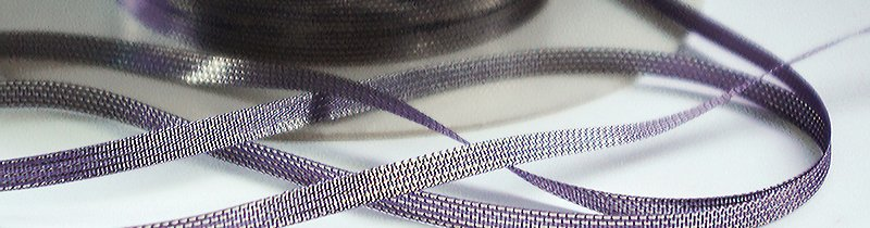 Mokuba Glimmer Ribbon - 1545-7